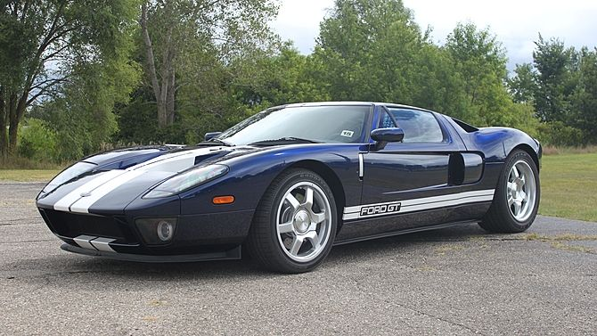2005 Ford Gt 1 100 Miles Offered On The Original Mso Presented As