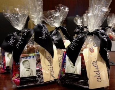 Candy Favors At A 50th Birthday Is As Sweet It Gets See More And Party Ideas One Stop