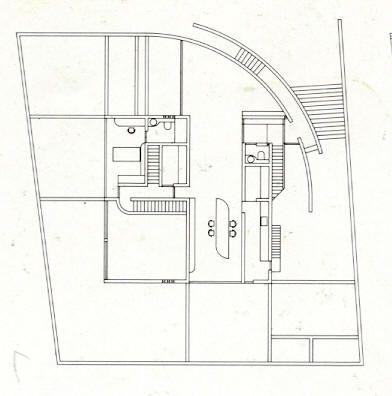Casa kidosaki tokio 1986 planta primera tadao ando for Kidosaki house