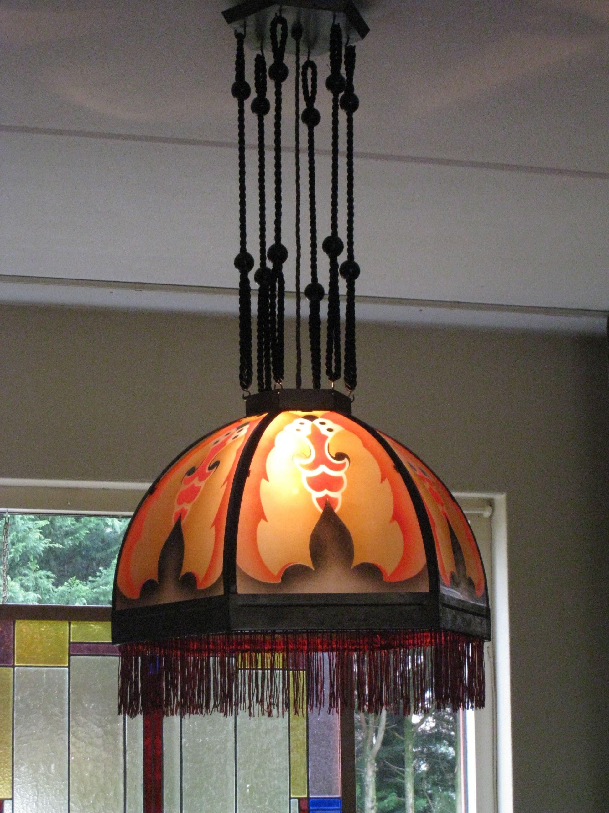 Amsterdamse School Hanglamp Art Deco Lampen Art Deco Deco