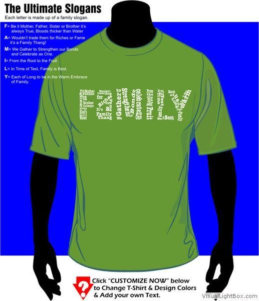 8c1667a7 T-Shirt Cafe Famous Family Reunion T-Shirt Designs | T-shirt Ideas ...