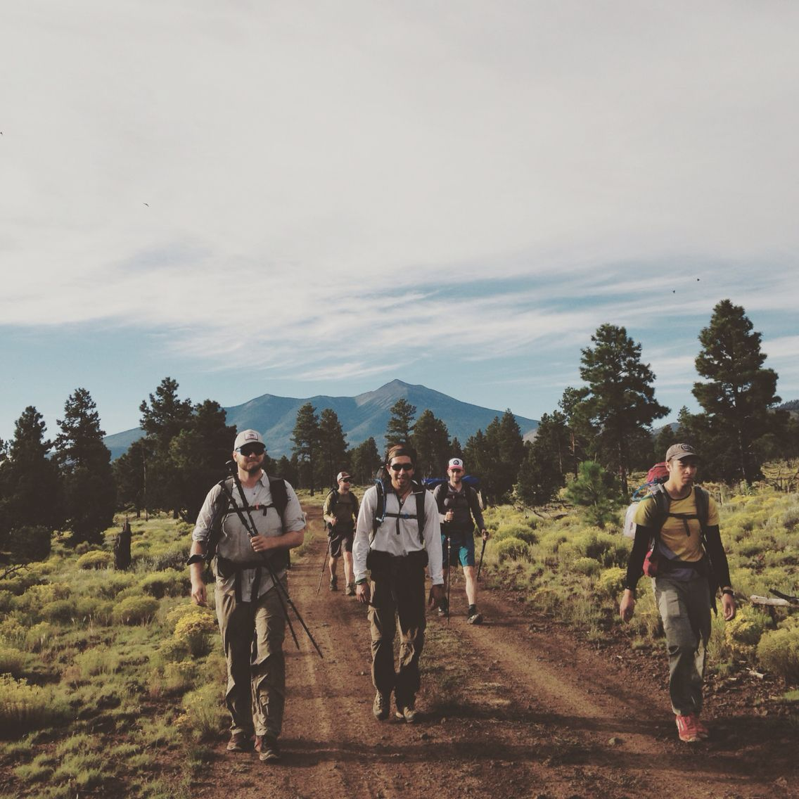 Arizona National Scenic Trail - Passage 34 #backpacking #Flagstaff #AZT