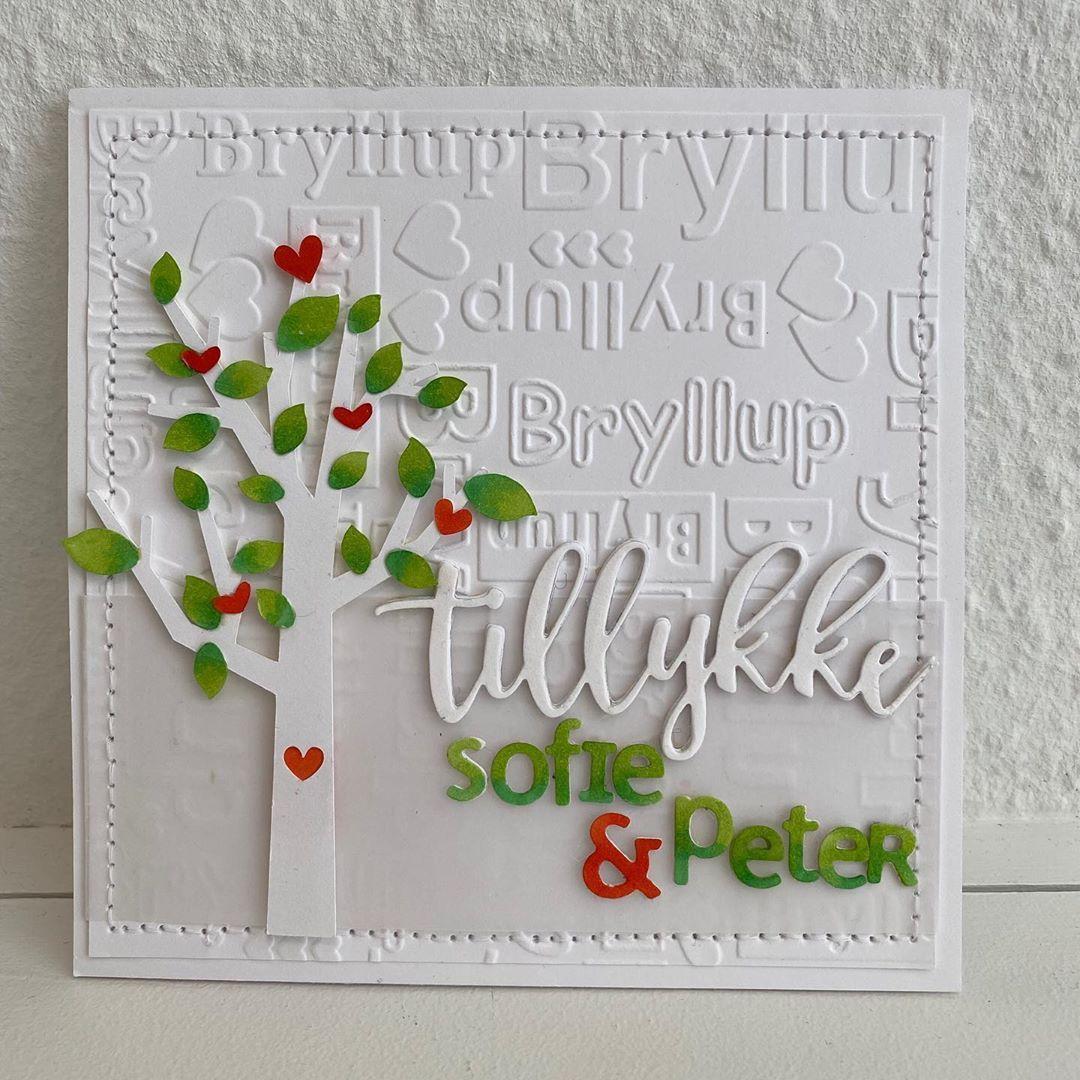 """Mio on Instagram: """"#weddingcard#gratulation #bryllupskort#tillykke#copicmarkers #copicsketch #silhouette #love #cardmaking #hjemmelavedekort #homemadecards…"""""""