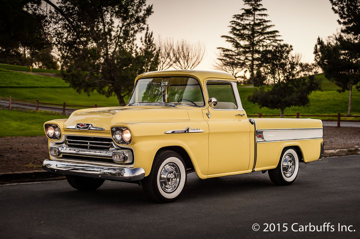 Truck 57 chevy truck bed wood : 1958 Chevrolet Cameo Apache Pickup Truck - BODY AND PAINT - 1958 ...