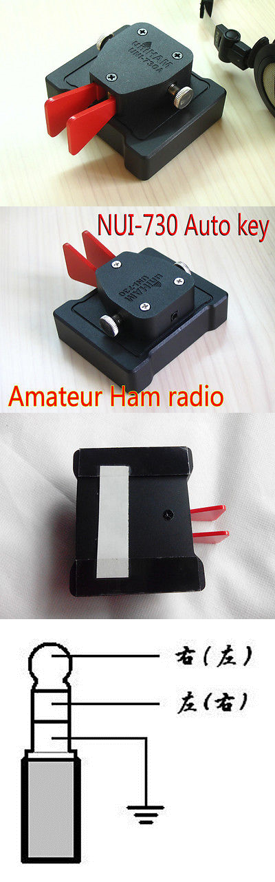 Ham Short Wave Radio Cw Morse Code Telegraph Uni730a Automatic Key Hand Key Radio Air Conditioning Appliance Parts Back To Search Resultshome Appliances