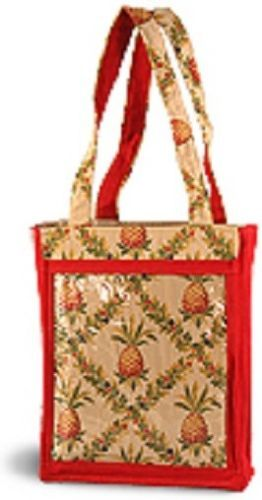 Clear Catalog Pocket Consultant Tote Bag Purse Party Plan Business Advertise New