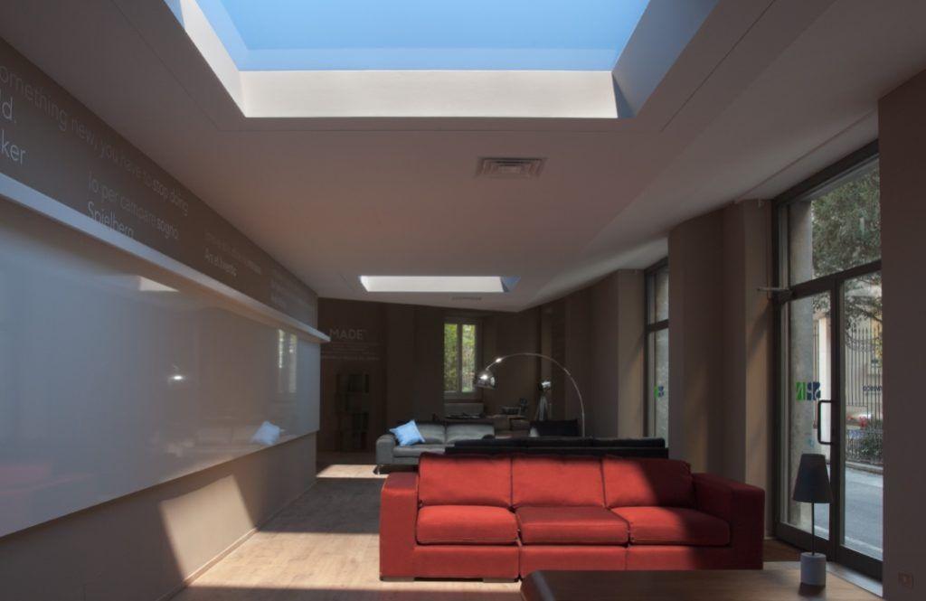 天窓からの日差しが手に入る 次世代型照明 コールクス の自然光