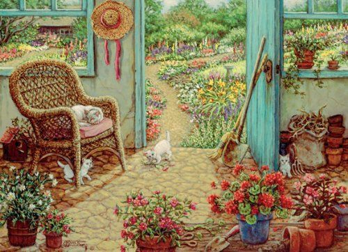 1000 Piece The Potting Shed Puzzle by Outset Media, http://www.amazon.com/dp/B00B50DO3E/ref=cm_sw_r_pi_dp_jgRKrb1YQKM92