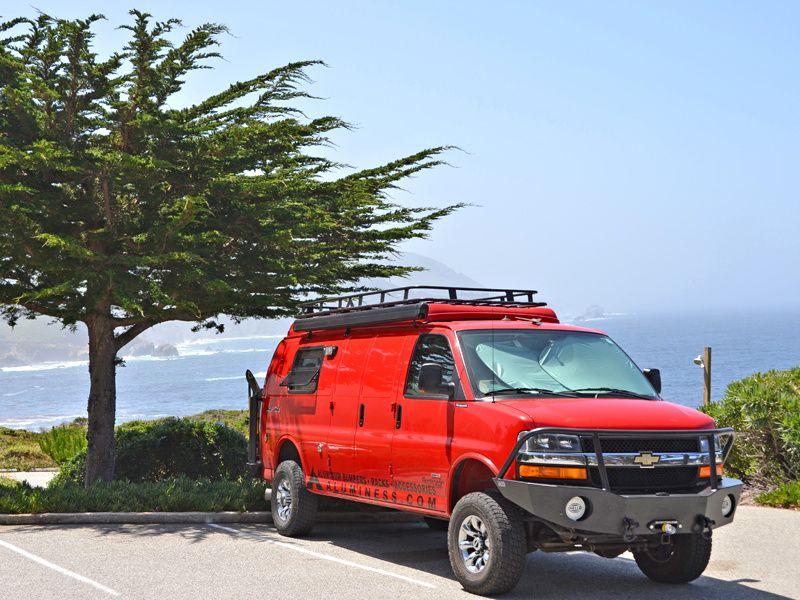 Chevy Van Aluminess Roof Rack Chevy Express Chevy Van Vans
