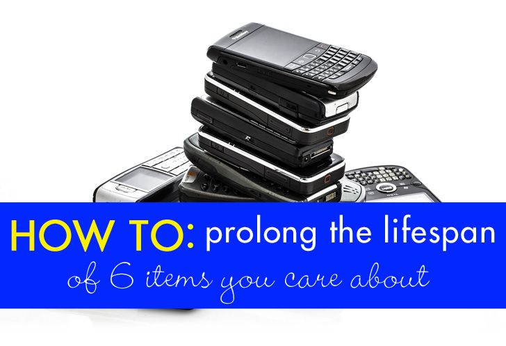 How to Prolong the Lifespan of 6 Items You Care About | Inhabitat - Sustainable Design Innovation, Eco Architecture, Green Building