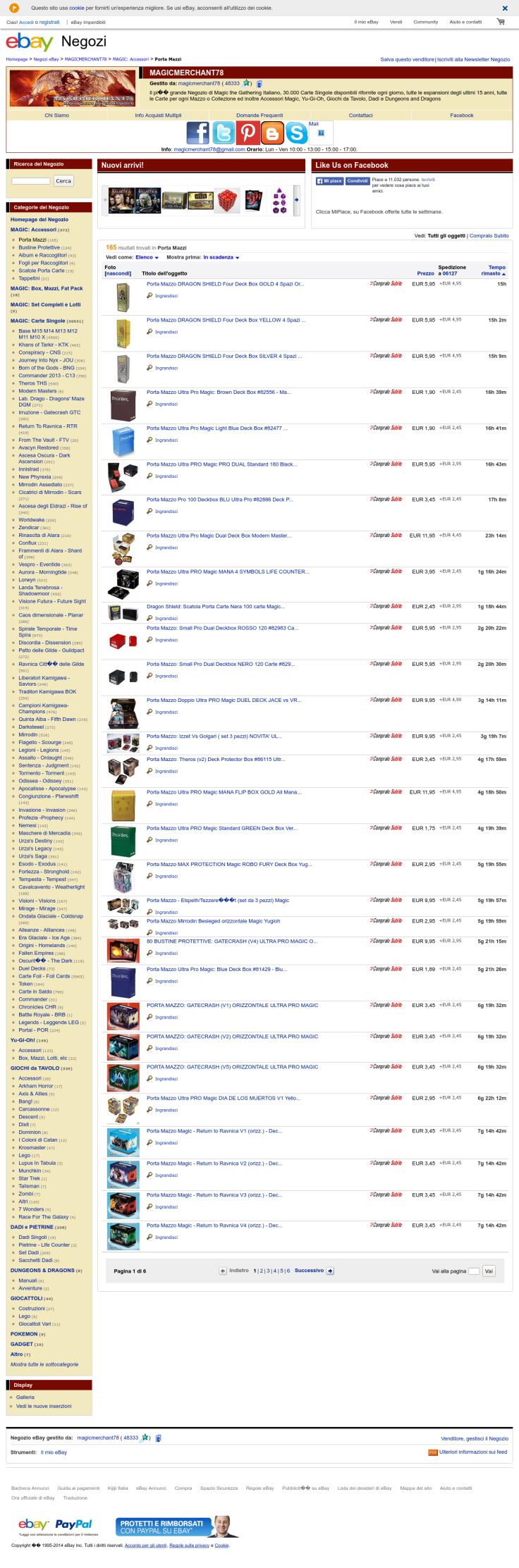 Website'http%3A%2F%2Fstores.ebay.it%2FMAGICMERCHANT78%2FPorta-Mazzi-%2F_i.html%3F_fsub%3D1446350017%26_sid%3D94770337%26_trksid%3Dp4634.c0.m322' snapped on Page2images!