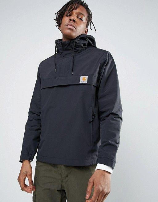 36ee97df15910 Carhartt WIP Summer Nimbus Overhead Jacket in black in 2019 | Style ...