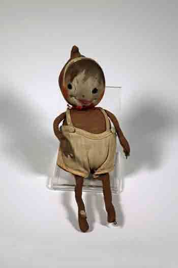 Early Brownie Doll. Doll c. 1920-1940