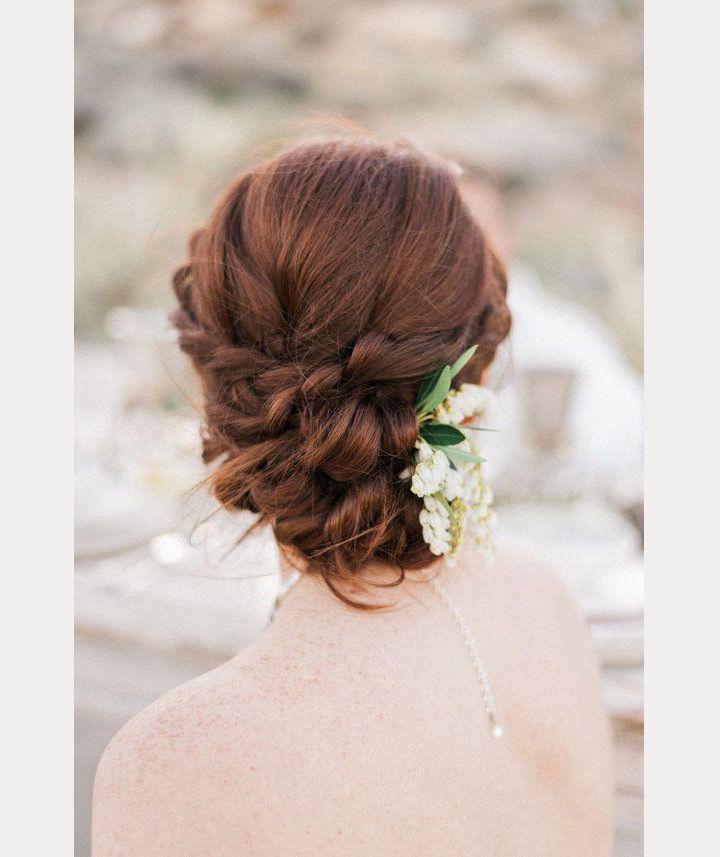 Gallery Prettiest Real Bride Wedding Hairstyles: 28 Beautiful Bridal Braids