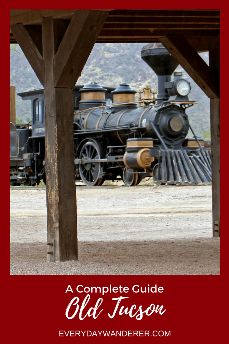 Gun smoke and gambling - your complete guide to a great day at Old Tucson in Arizona   #arizona #oldtucson #visitAZ   Train   Reno   Old West   Wild West   Western   Westerns