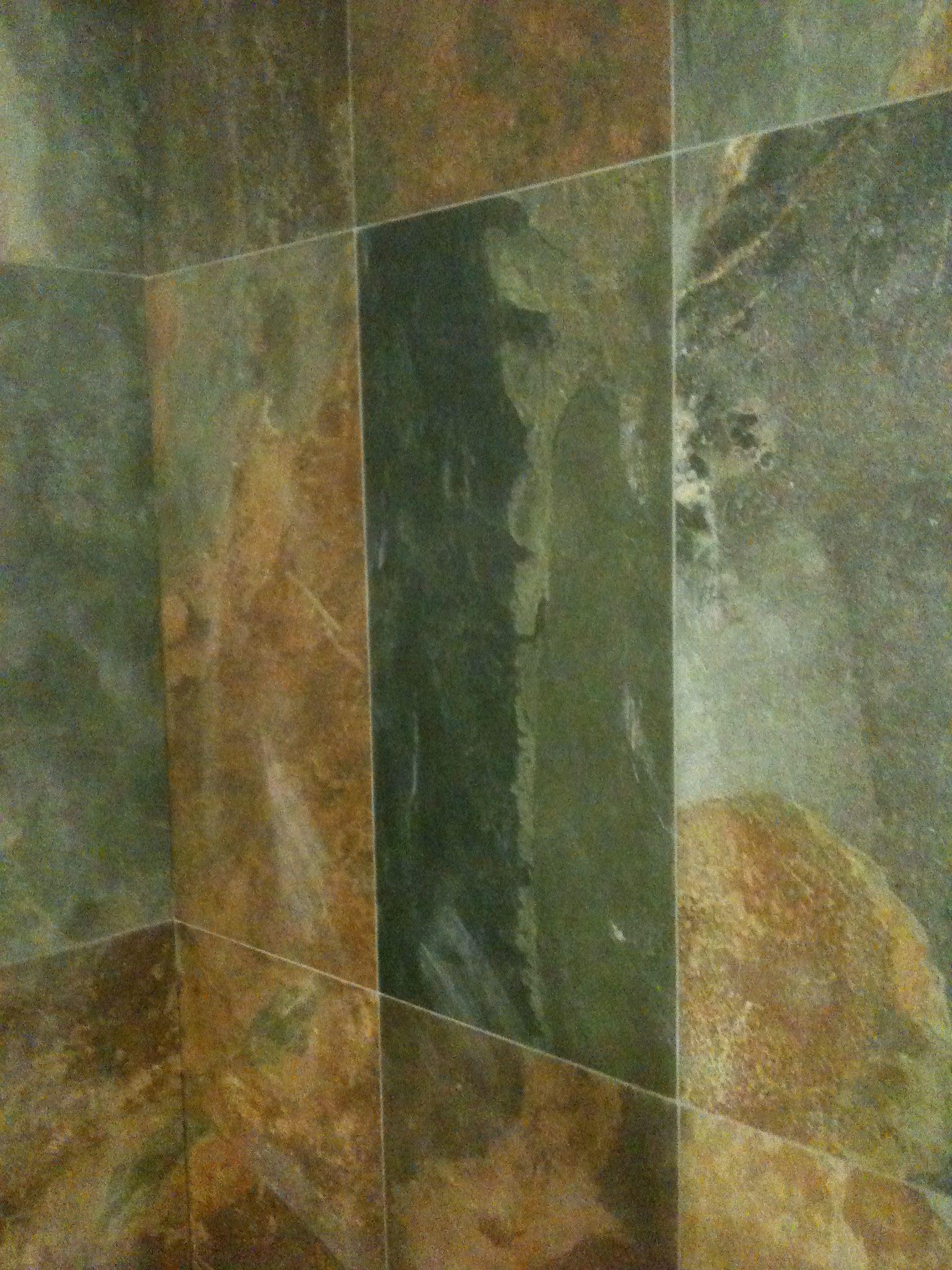 brazilaans leisteen keramische tegel voor in de badkamer