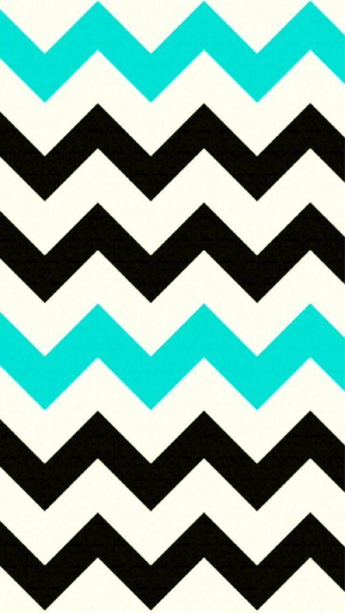 Pretty chevron wallpaper ViaWe Heart It Chevronn❤ Pinterest