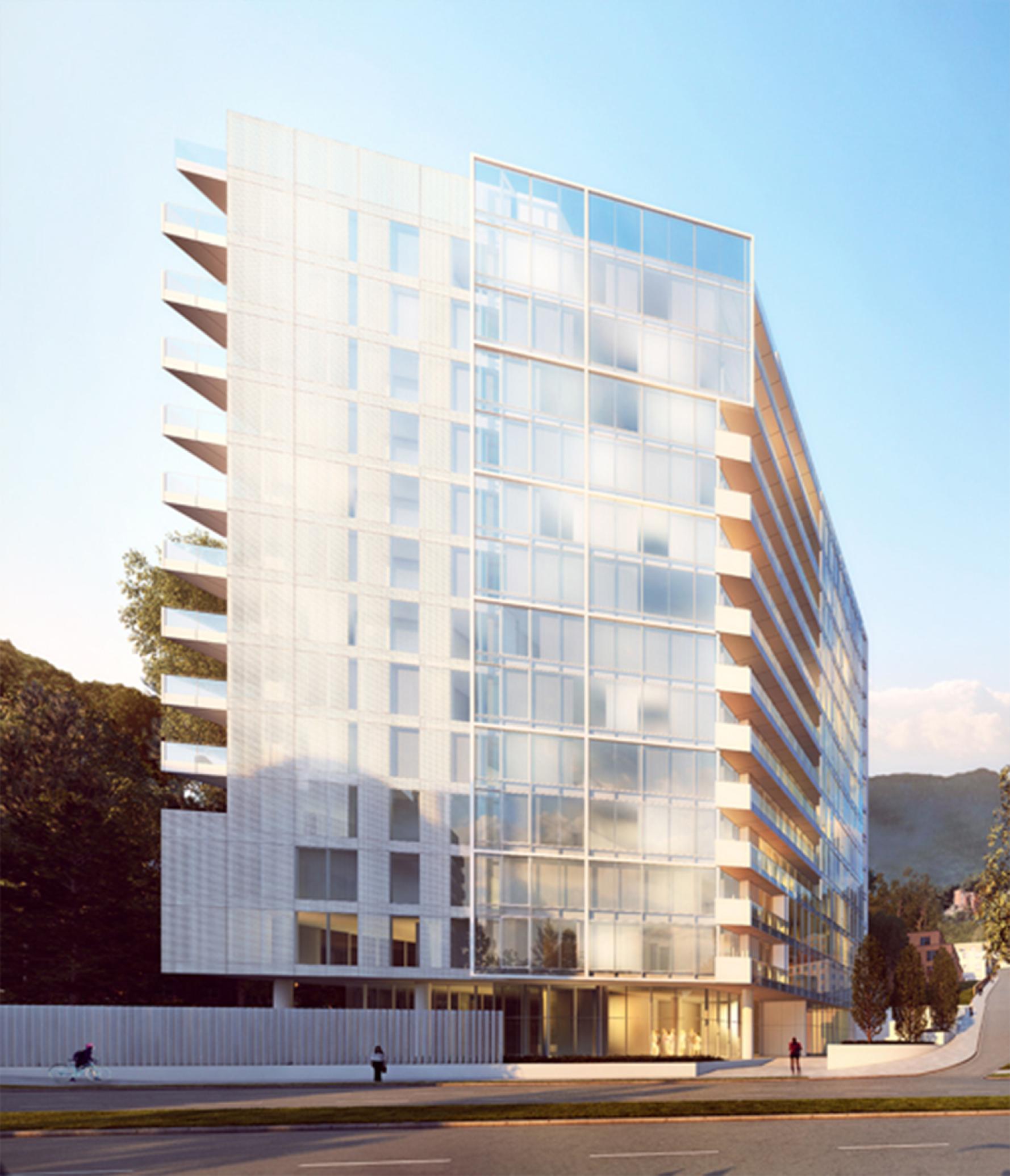 Galería - Richard Meier diseña edificio residencial en Bogotá, Colombia - 4