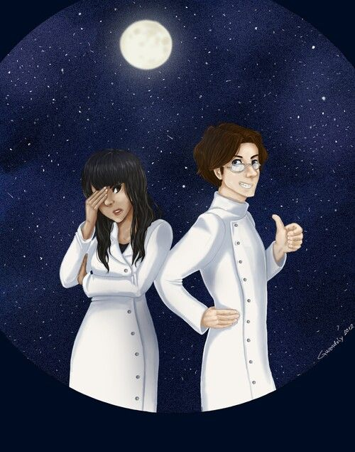 To the moon - Dr. Rosalene & Dr. Watts