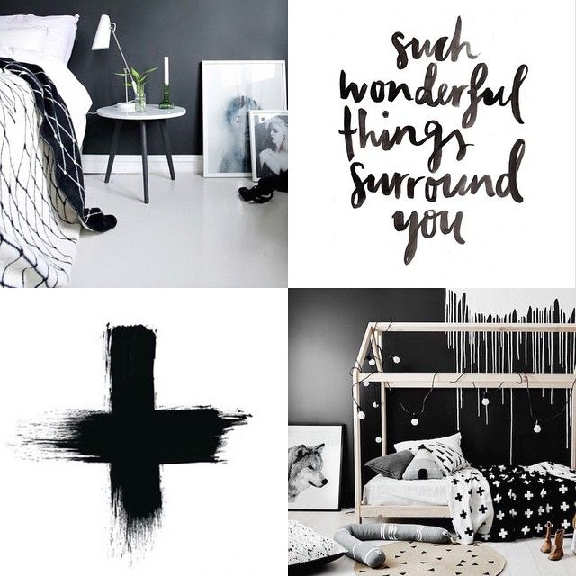 Last day of the month! What a big month it has been! Just sharing just a few of my favourite posts from May! From top left - Regrammed from @huntandcodesign - love the colour scheme and in particular the throw in this shot! Such beautiful things surround you - gorgeous script by @jasminedowling. Cross print by @desenio - a must have! And finally, the very popular shot by @thedesignchaser capturing lots of new products available via @norsuinteriors - perfection! #blackandwhite #monochrome…