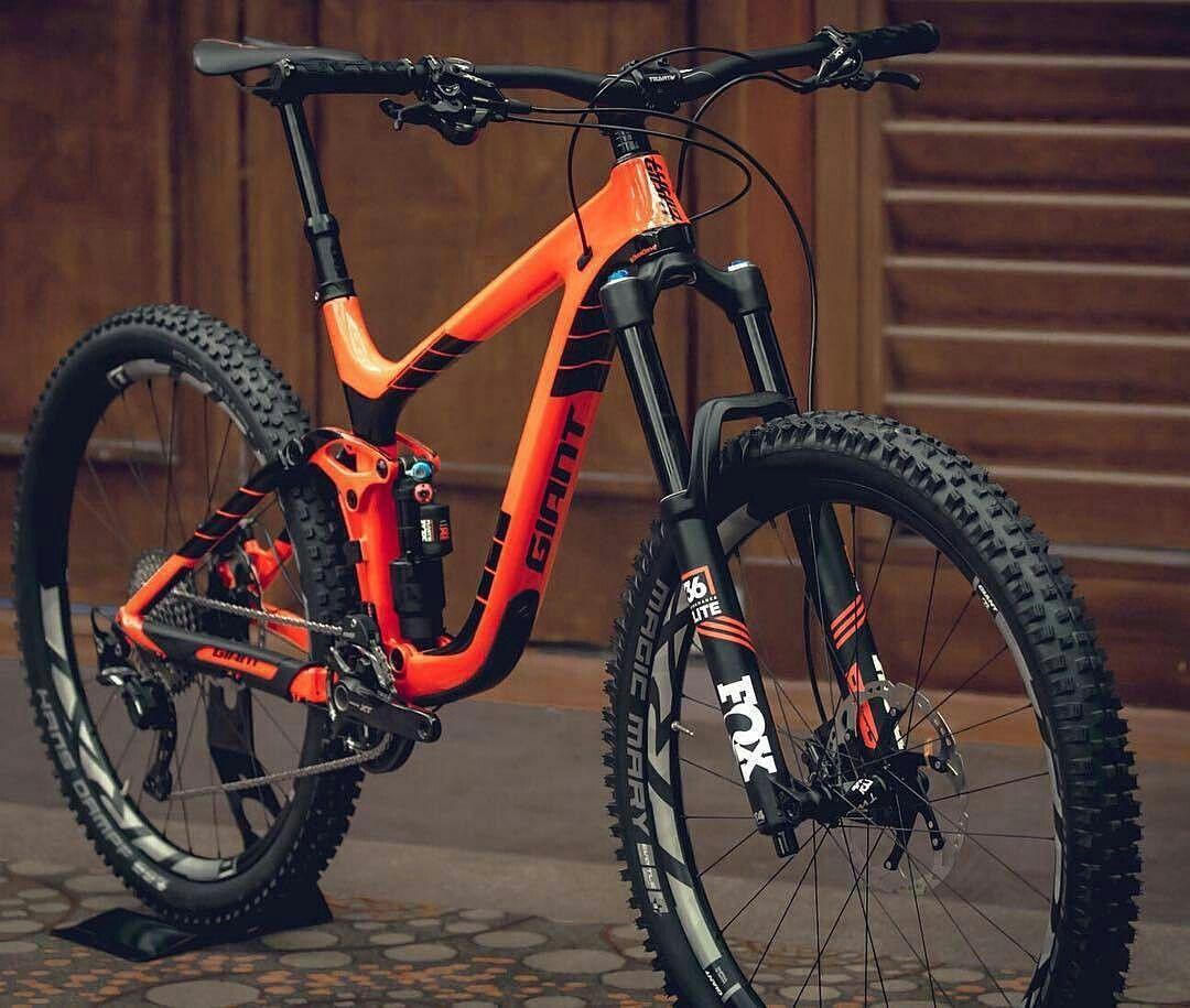 Giant Reign Mtb Bike Mountain Bicycle Mountain Bike Mountain