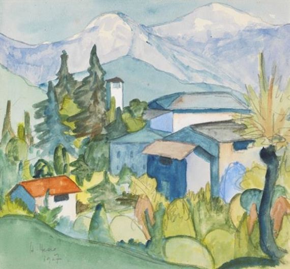 Hermann Hesse Tessin Gebirge In 2019 Art Watercolor Paintings