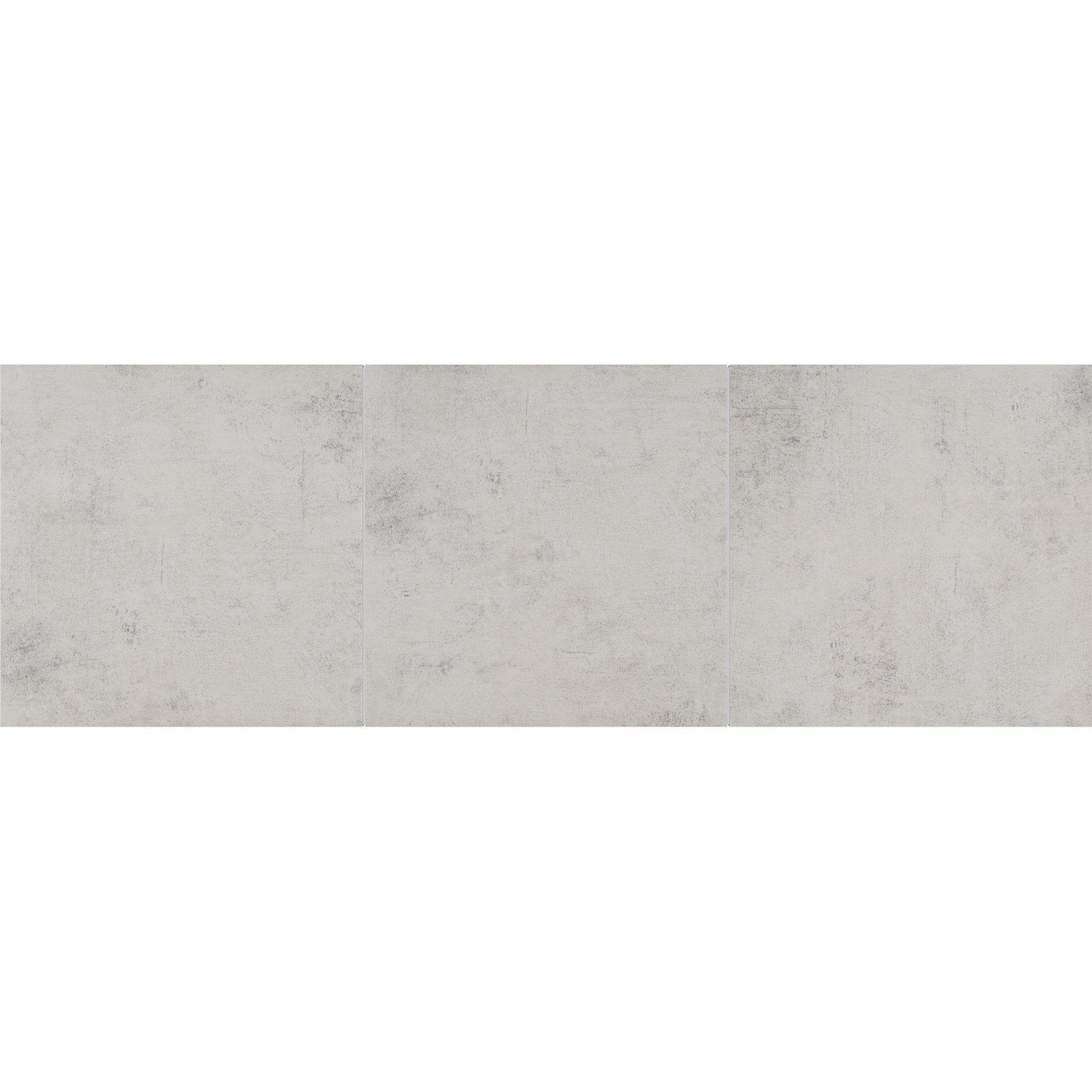 Carrelage Sol Et Mur Forte Effet Beton Gris Clair Alma L 45 X L 45