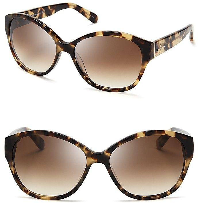 Kate Spade Kiersten Cat Eye Sunglasses