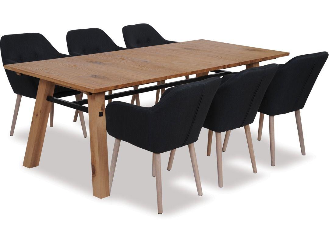 Stockholm Extension Dining Table Emilia Chairs X 6 Danske Mobler New Zealand Made Furniture Extension Dining Table Dining Table Stressless Furniture