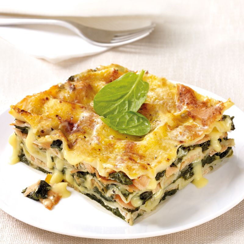 Photo of Salmon Lasagna with Spinach Recipe | WW Germany