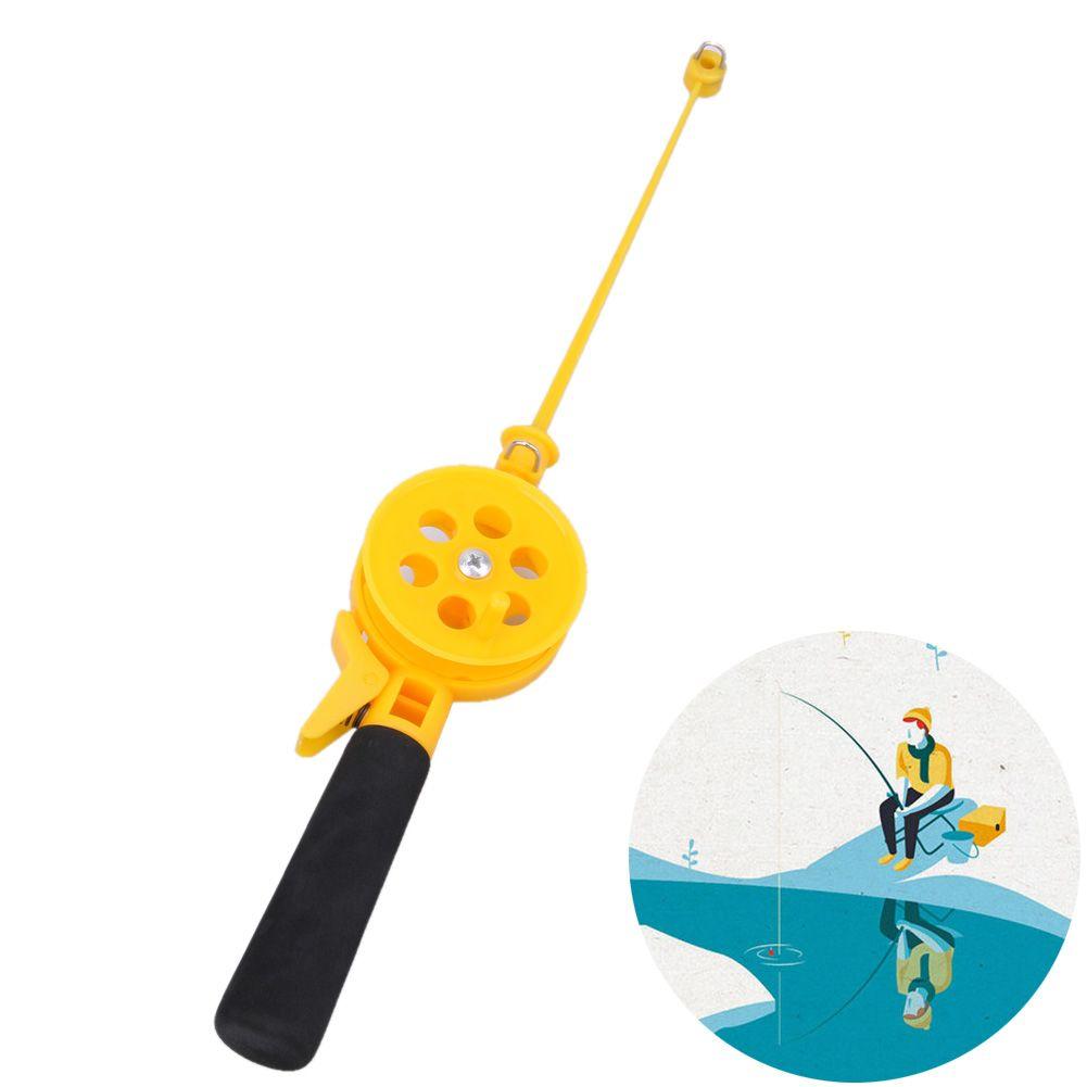 7b26ccc06d27 Portable Mini Ice Fishing Rod 33cm Plastic Children Fishing Pole ...