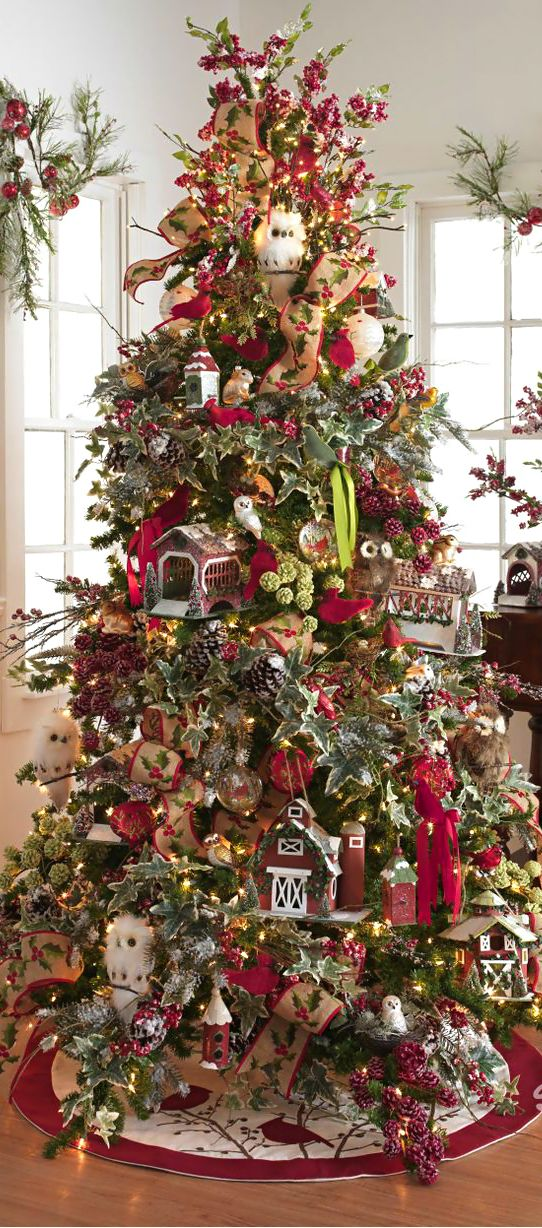 Christmas Tree ○ Nature Christmas trees decorating Ideas