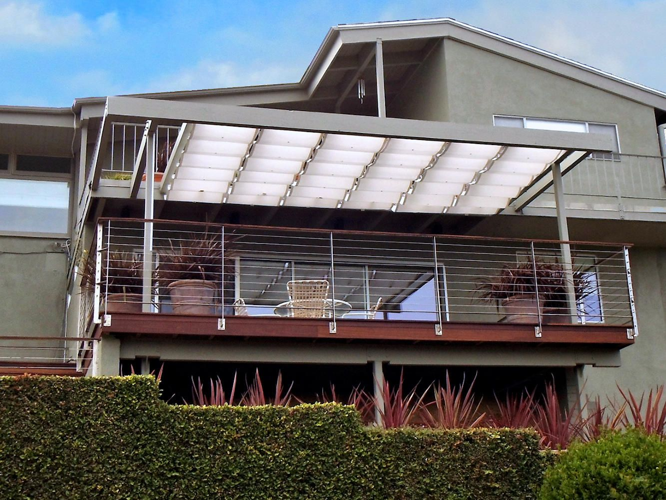 Slide Wire Cable Awnings | Superior Awning - Part 2 | cobertura ...