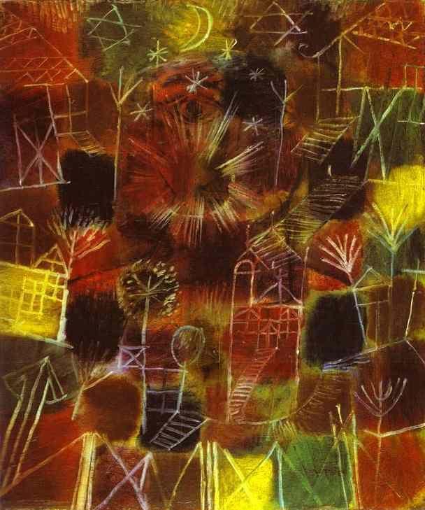 Paul Klee ~ Cosmic Composition, 1919