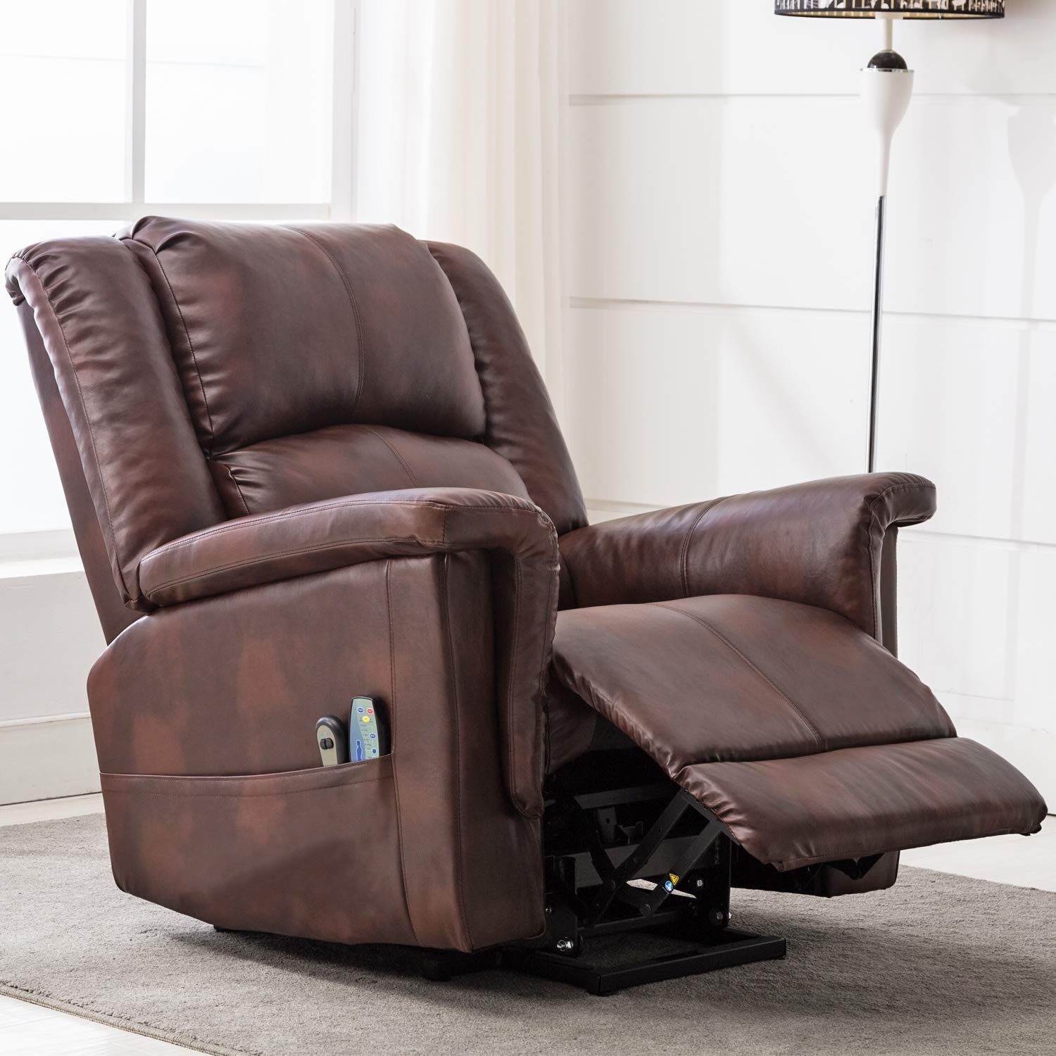 Comhoma power lift recliner chair massage heated electric