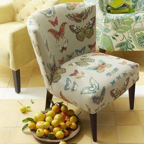 Exceptional Veronica Taper Leg Chair   Prints | West Elm