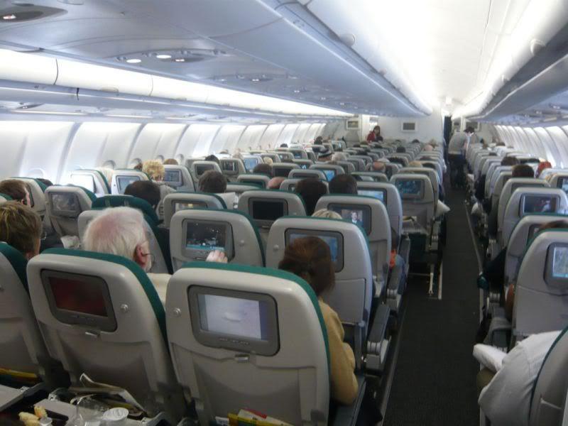 aer lingus economy class review ireland Aviation forum