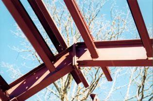 Optional Vaulted Ceiling Joist Steelhomes Construction Steel House Vaulted Ceiling Beams Steel Frame House