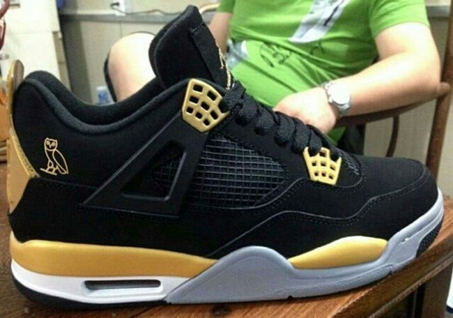 86556f754225c2 ... switzerland drake x air jordan 4 retro ovo eu kicks sneaker magazine  36a51 89200