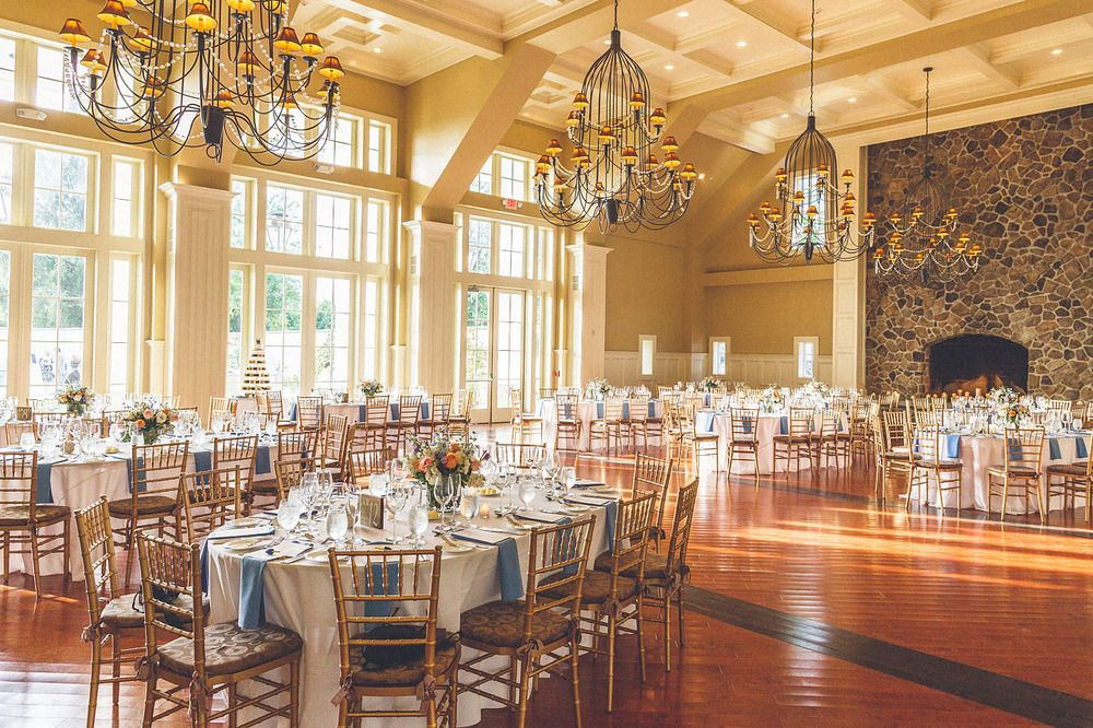 Ryland Inn Wedding I Like The Look Of These Tables Picture Navy Blue Napkins