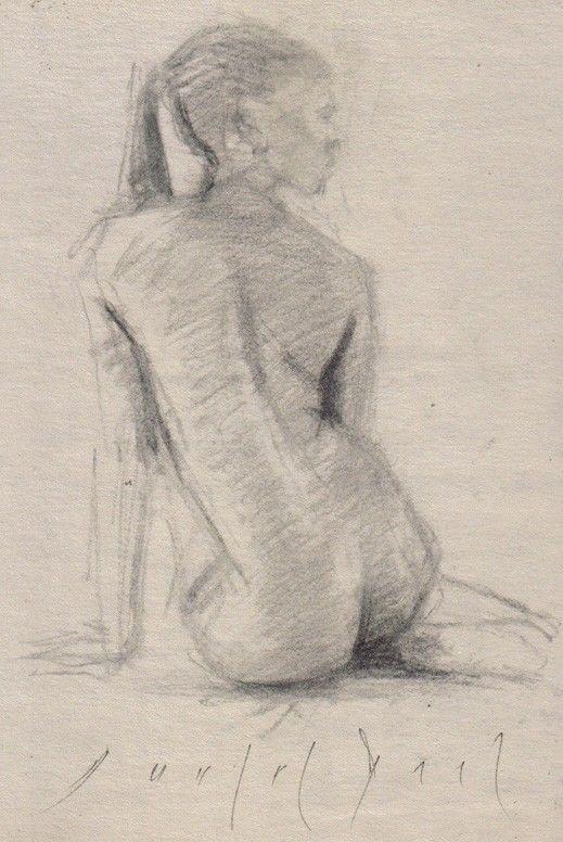 drawings African american nude