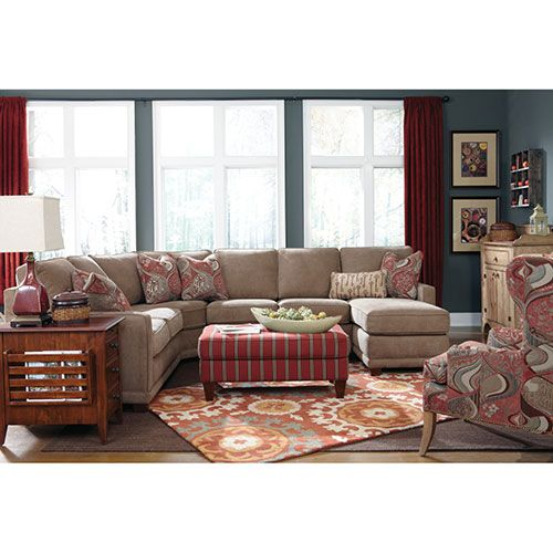 Kennedy Sectional Love This 100s Of Different Fabrics To