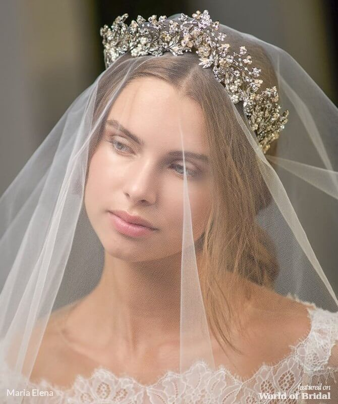 Maria Elena Spring 2019 Bridal Headpieces #bridalheadpieces
