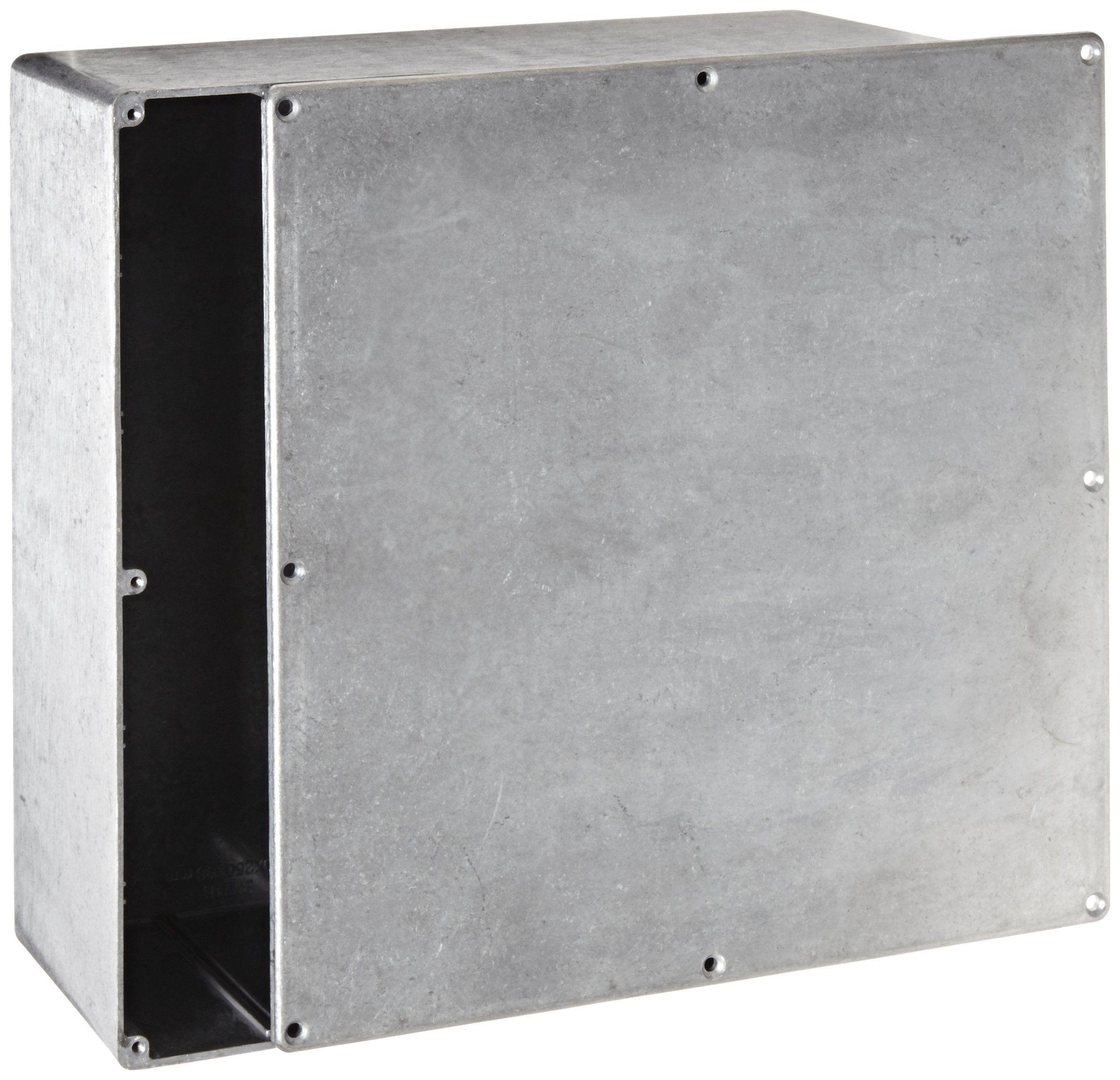 Bud Industries Cn5713 Die Cast Aluminum Enclosure 927 32 Length X 927 32 Width X 4 Height Natura Home Improvement Tall Cabinet Storage Locker Storage
