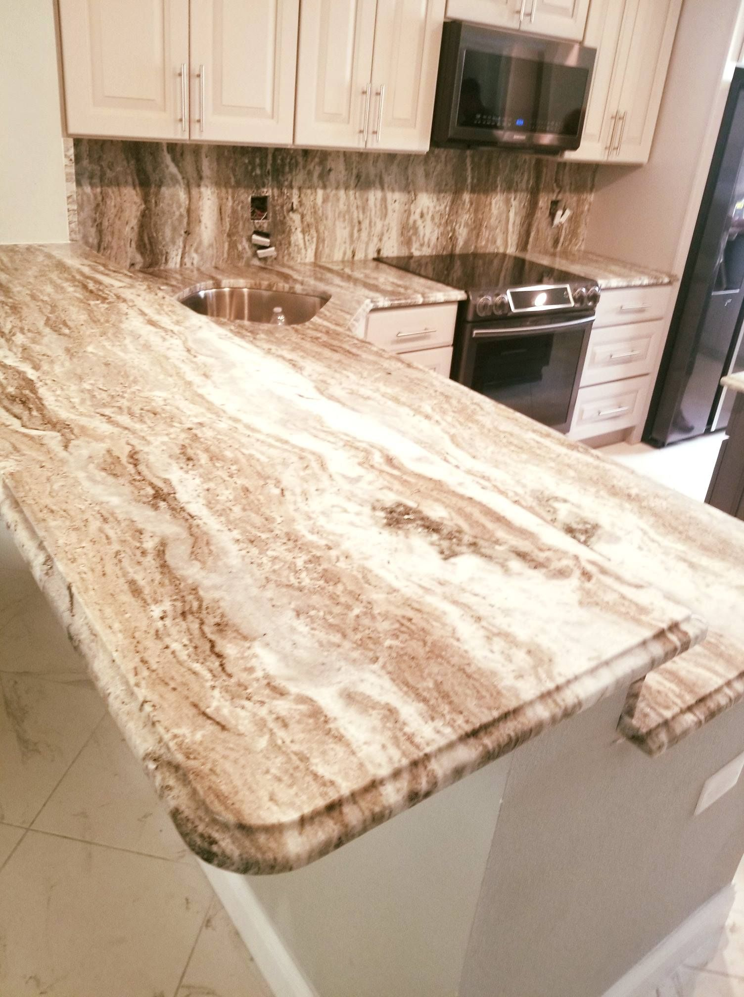 Amazing custommade kitchen countertop designed