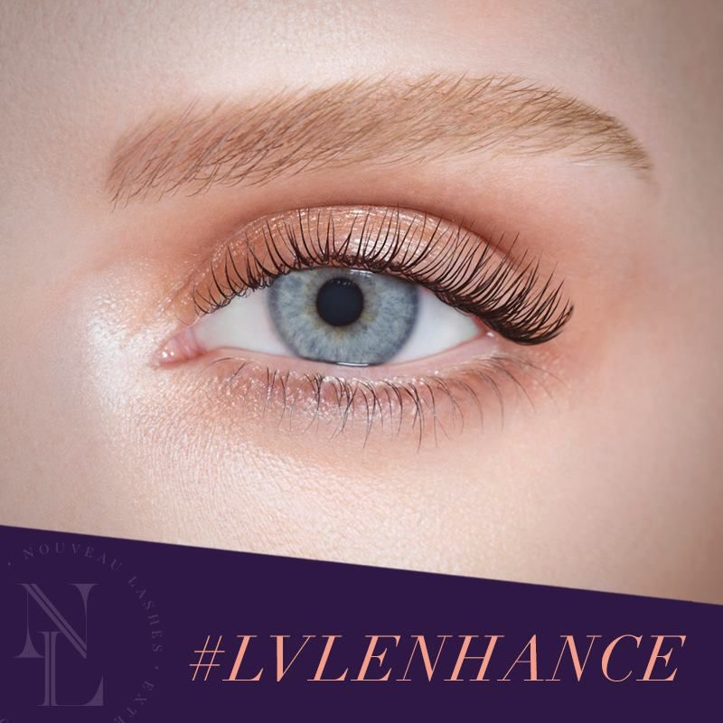 Introducing Lvlenhance The Natural Look Lash Lift From Nouveau