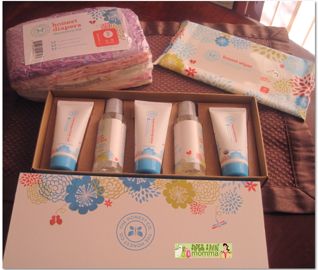 The Honest Company Free Personal Care Baby Bundle Trial Kit