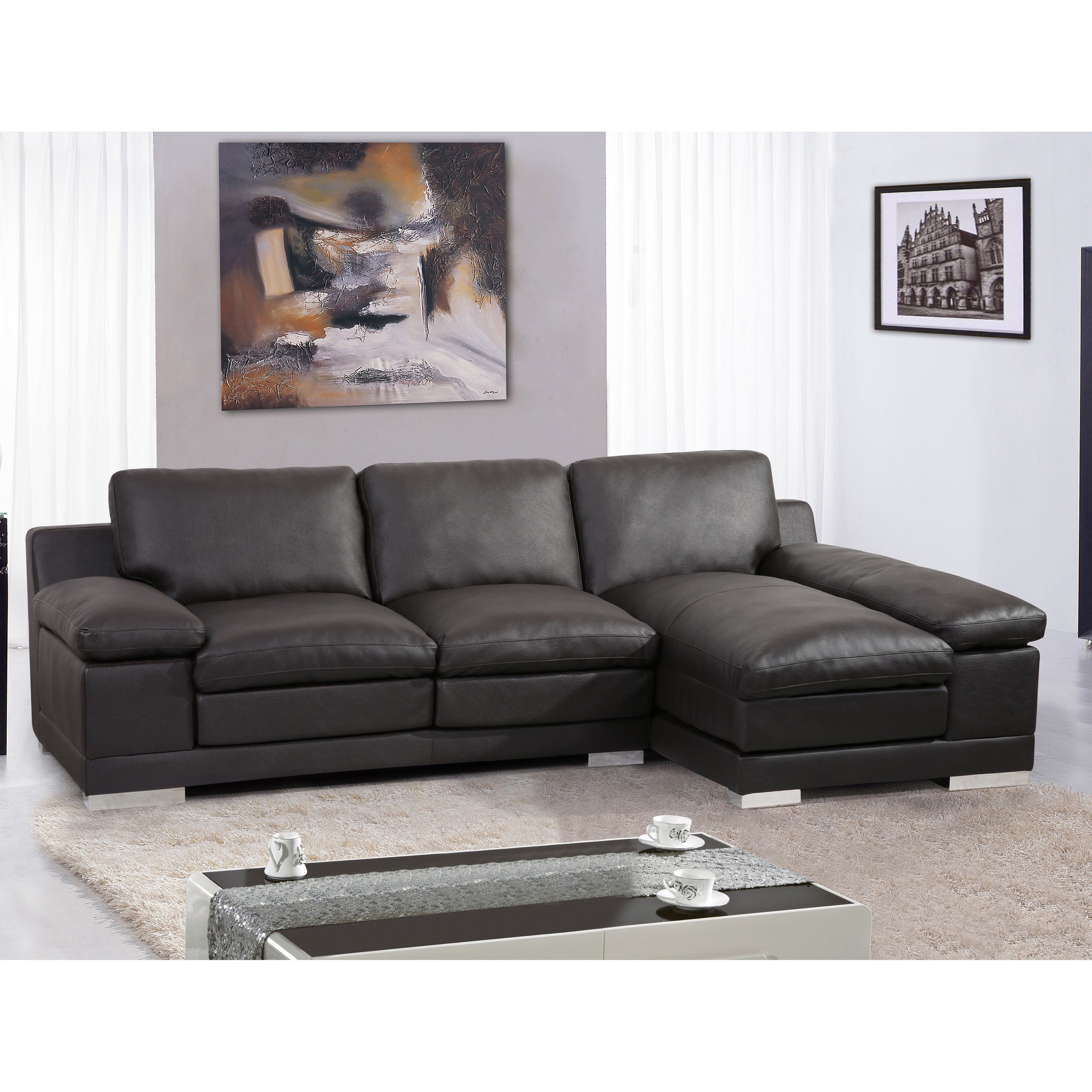Overstock Com Online Shopping Bedding Furniture Electronics Jewelry Clothing More 2 Piece Sectional Sofa Sectional Sofa With Chaise Modern Sofa Sectional