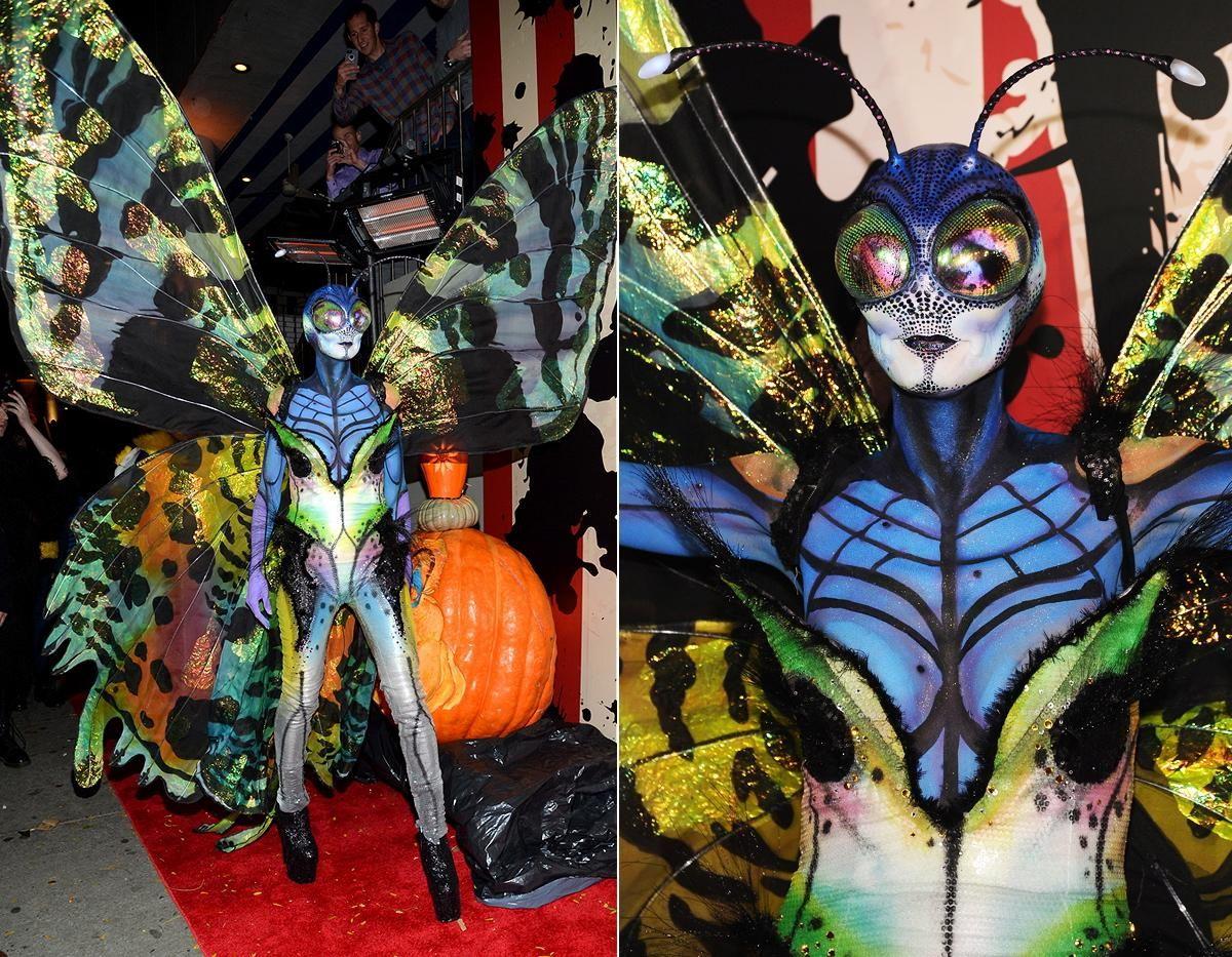 Heidi Klum Finally Holds Postponed Halloween Party | Celebrity ...