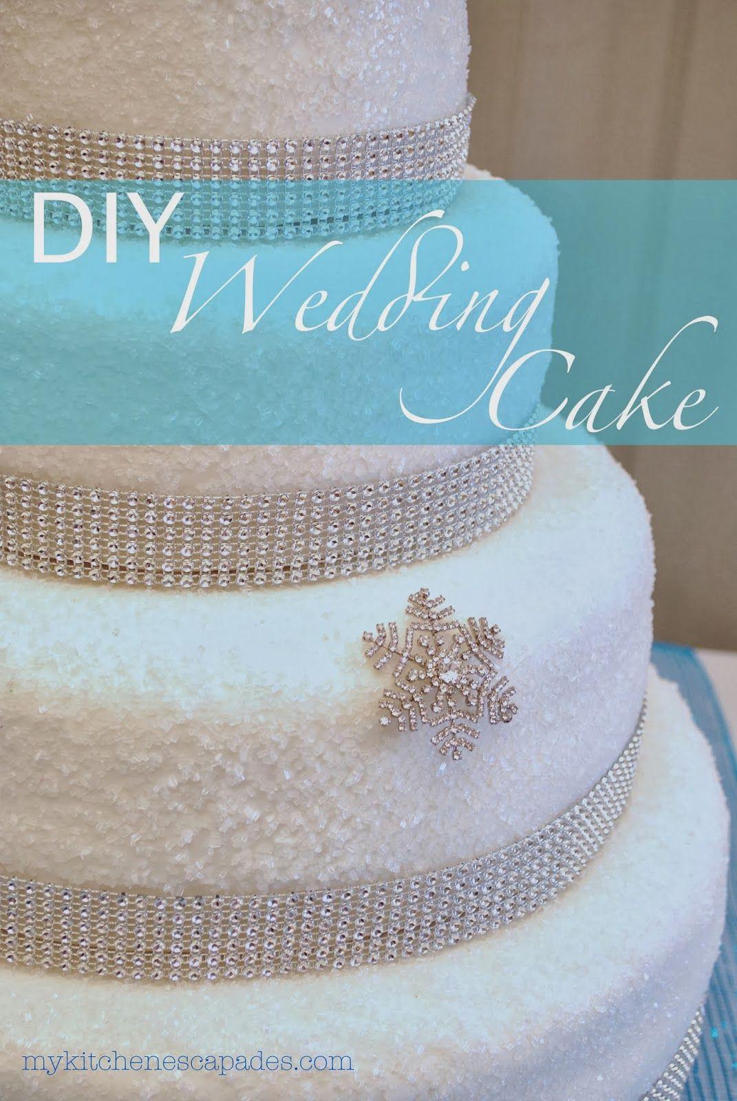 Diy Wedding Cake Wedding Cake Diy Wedding Cake And Cake